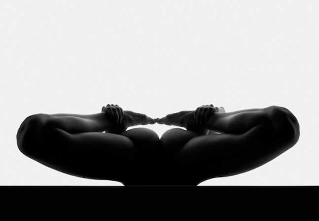 Os nus abstratos do  fotógrafo Waclaw Wantuch