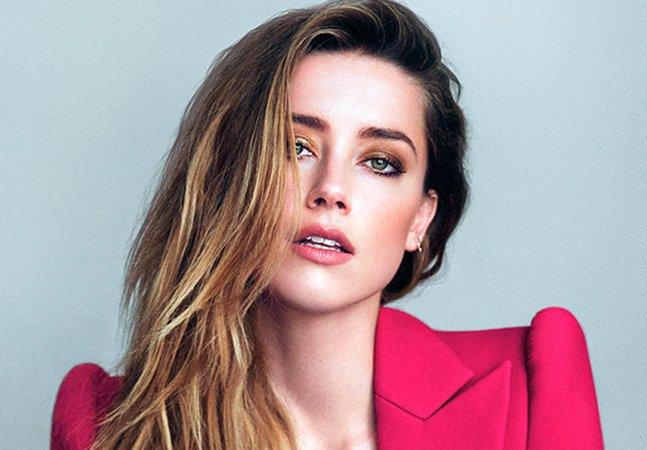 Amber Heard decide doar dinheiro que recebeu na separação de Johnny Depp