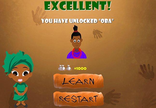Aplicativo inova e ensina iorubá para crianças de maneira simples e divertida