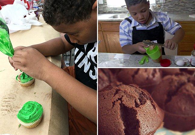 Garoto de 8 anos cria padaria virtual na esperança de poder oferecer pra mãe a casa que ela nunca teve