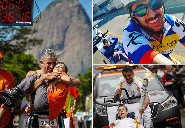 Brasileiro adapta triciclo especial para realizar sonho de filho com paralisia cerebral