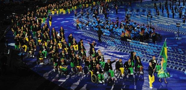 A delegação brasileira em Londres