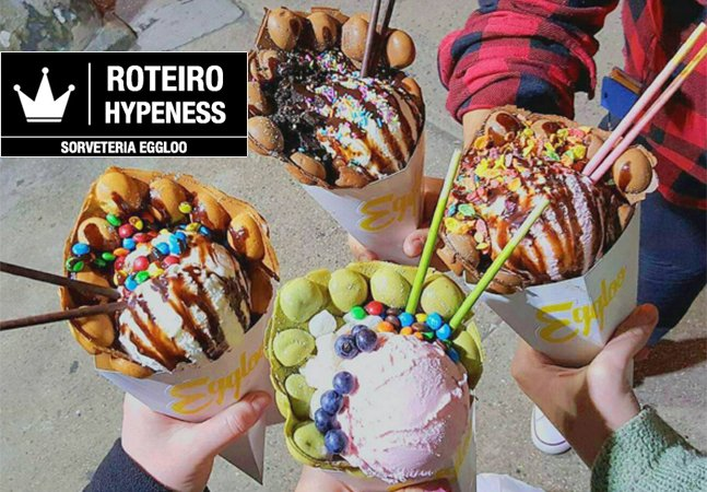 Eggloo: a nova queridinha de NY tem o sorvete mais insano – e maravilhoso – que a gente já viu