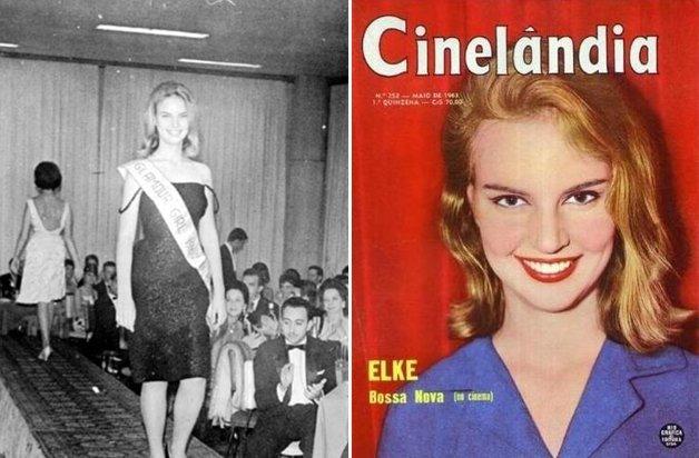 Elke em seu início de carreira
