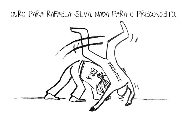 Gola ataca de novo com ilustrações certeiras e divertidas que resumem as Olimpíadas do Rio