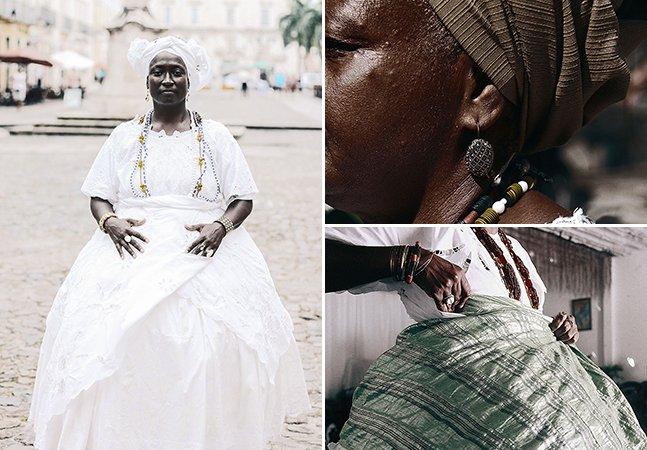 Fotógrafa baiana cria série para exaltar a beleza da religião de matriz africana no Brasil
