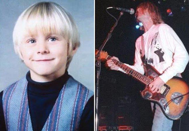 Fotografias de infância revelam como eram alguns ícones da música antes da fama