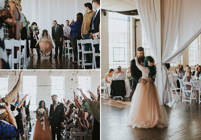 Ela passou um ano reaprendendo a andar para poder dançar no dia de seu casamento