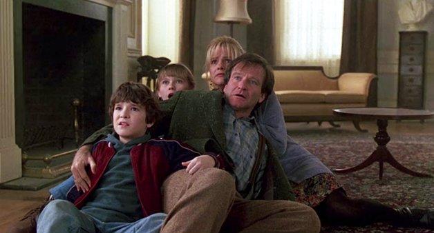 Robin Williams em ação na primeira versão
