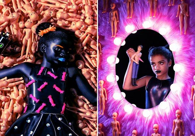 Projeto mistura feminismo e cultura afro em série de fotos poderosa