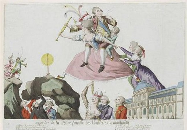 A propaganda pornográfica usada contra Maria Antonieta reflete a imprensa machista e conservadora do século XVIII