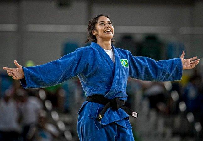 Mais uma mulher, mais uma Silva na semifinal do judô pode garantir  outra medalha para o Brasil