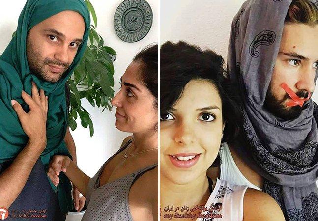 Como os homens iranianos estão manifestando seu apoio à luta por direitos das mulheres no país