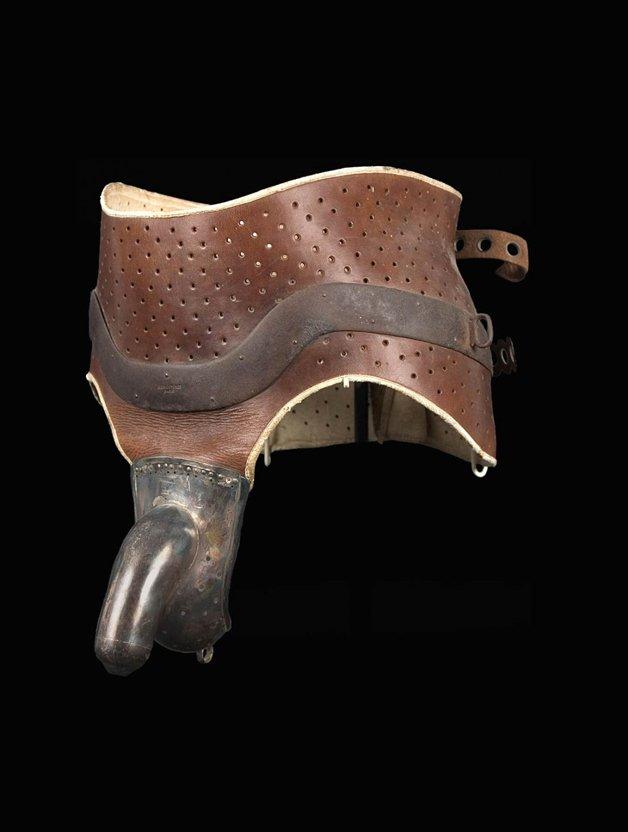 Antigo artefato para impedir a masturbação