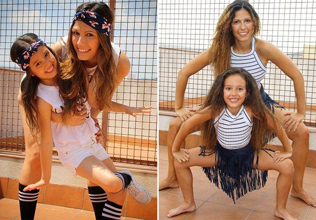 Você precisa ver as maravilhosas danças desta mãe e filha que estão conquistando a internet