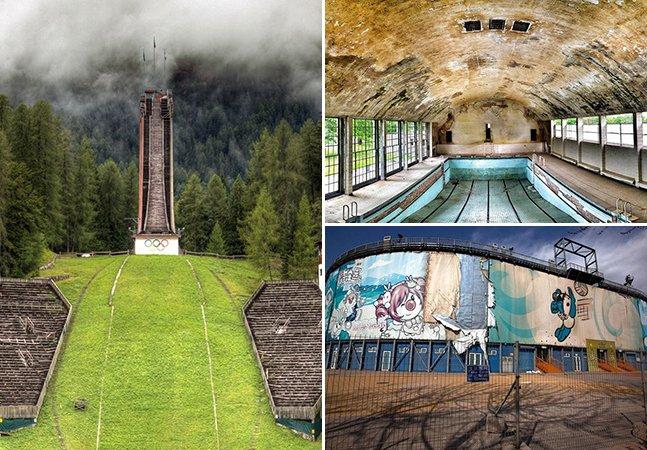 E depois do fim? Série de fotos mostra vilas e estádios abandonados após as Olimpíadas