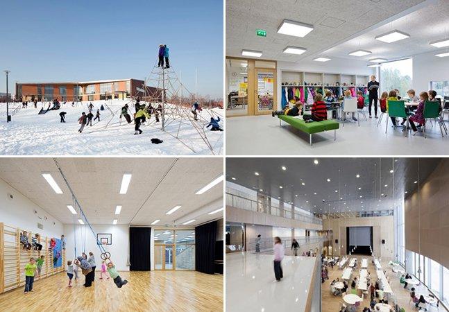 A 'escola do futuro' acaba de ser aberta na Finlândia – e é incrível