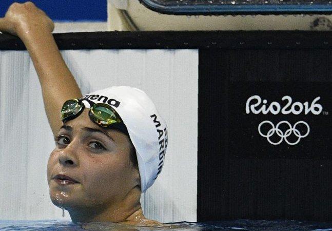 A jovem refugiada que nadou 3 horas em mar aberto pra salvar vidas emocionou a todos nas Olimpíadas do RJ