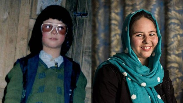 À esquerda, Mohammed; à direita, Zahar