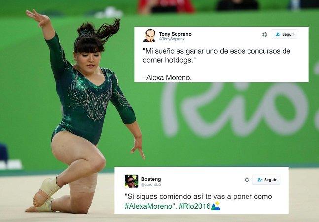 Ginasta mexicana é alvo de críticas por seu corpo nas Olimpíadas