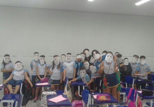 Alunos do 4º ano em Tocantins encontram forma linda de ajudar colega a superar um grave acidente