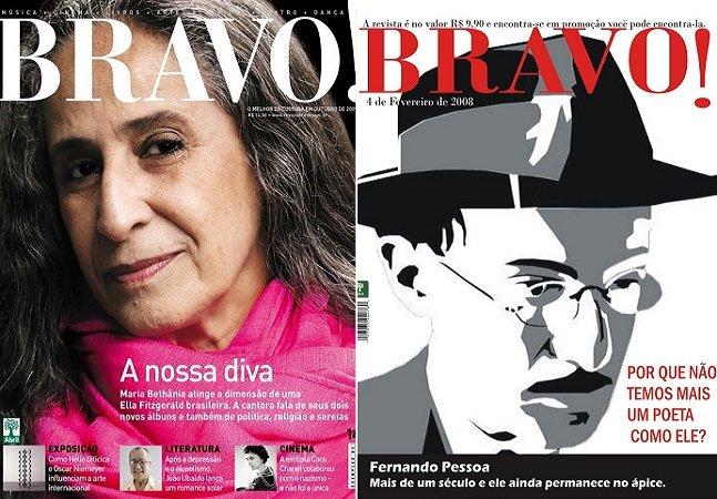 Sdds Bravo! uma das mais importantes publicações culturais brasileiras será relançada amanhã em formato inovador