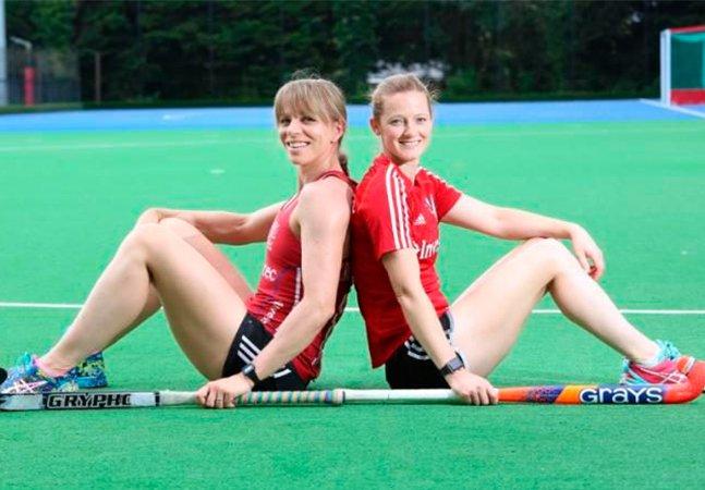 Estas duas atletas são as primeiras oficialmente casadas a competir pelo mesmo time numa Olímpiada
