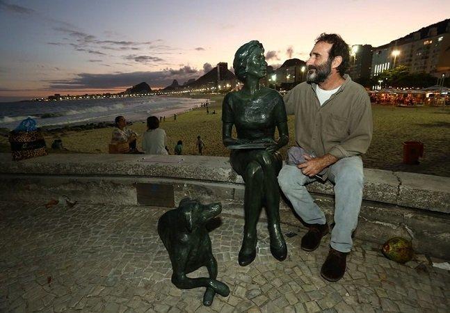A primeira estátua feminina do Rio não podia ser de outra pessoa