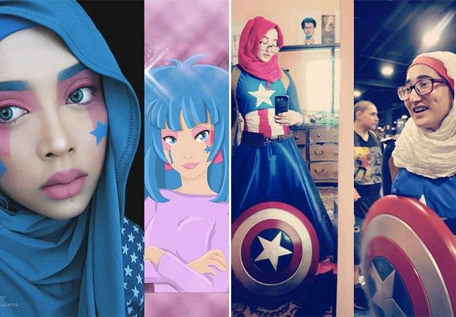 Estas cosplayers de hijab estão ajudando a desconstruir estereótipos
