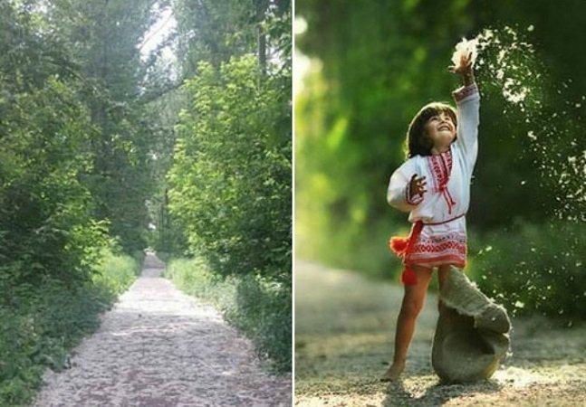 Profissionais x Amadores: comparações mostram como o mesmo lugar pode parecer tão diferente