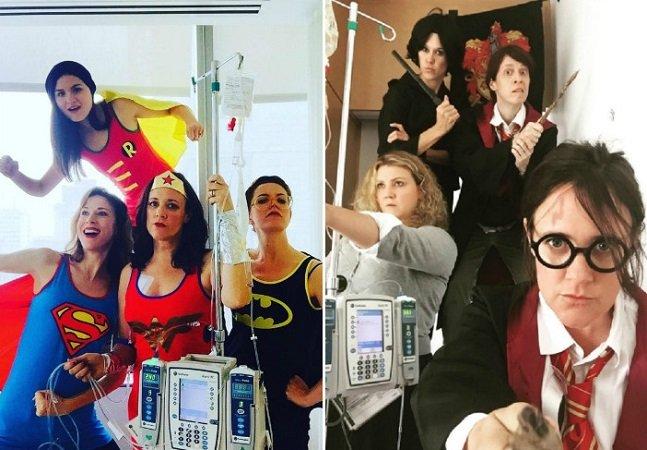 Esta mulher está se inspirando em filmes para encarar a quimioterapia com positividade