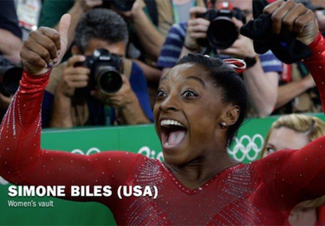 Vídeo incrível mostra as expressões de atletas olímpicos após ganharem a medalha de ouro