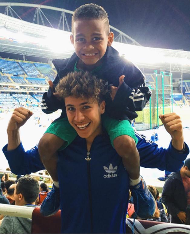 Juanpa e o pequeno Carlos