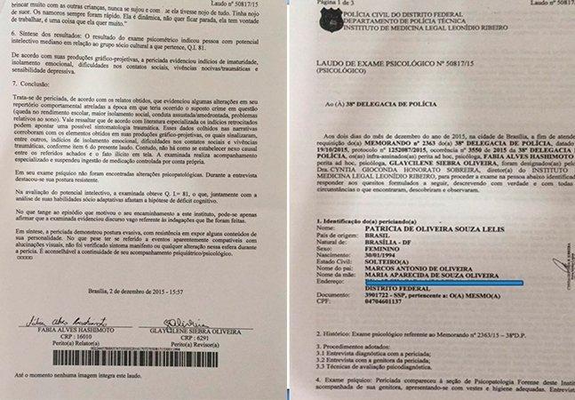 Laudo divulgado pelo IML de Brasília desmente delegado do caso Feliciano