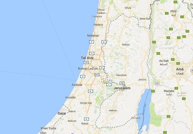 Nome 'Palestina' não aparece no Google Maps, denunciam jornalistas