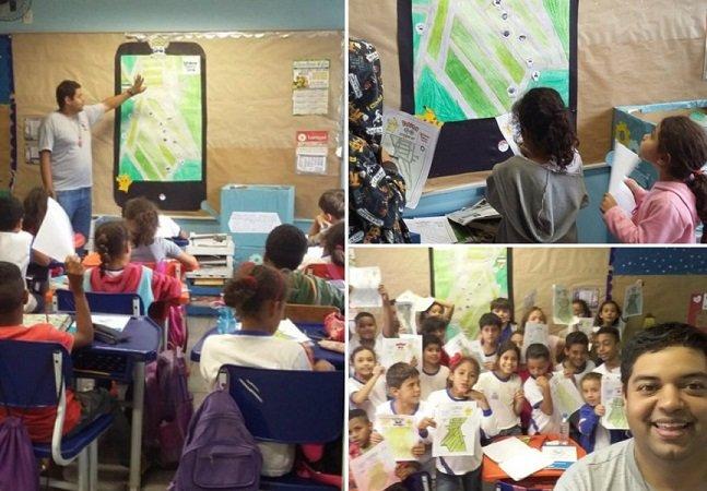 Professor usa Pokémon Go para ensinar geografia aos alunos
