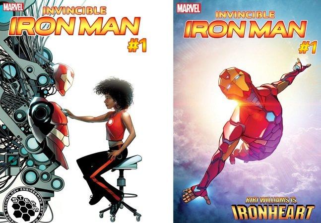 O nome da heroína negra da Marvel que substitiu o Homem de Ferro não poderia ser mais perfeito