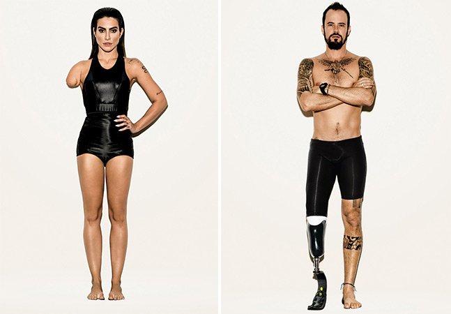 Campanha para a Paralimpíada aposta em celebridades modificadas ao invés de pessoas com deficiência