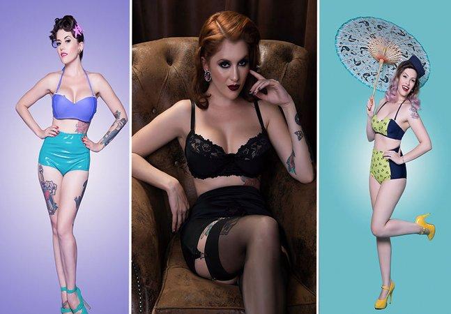 Essa marca de lingerie te ajuda a virar uma pinup ou uma sereia