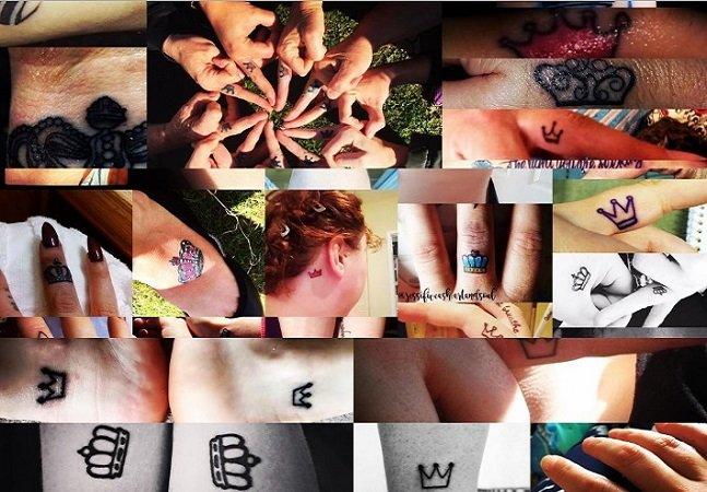 Por que as mulheres estão tatuando coroas em seus corpos