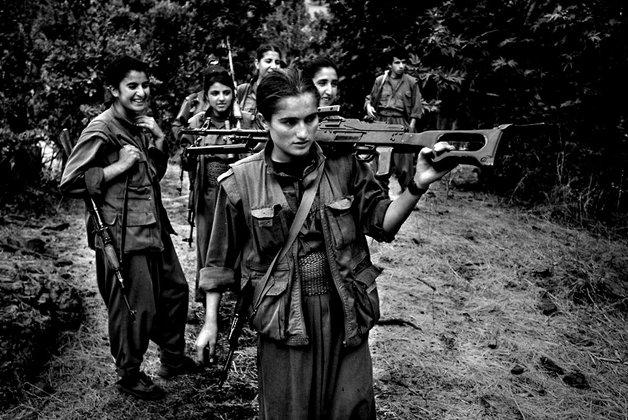 As mulheres em luta na Síria