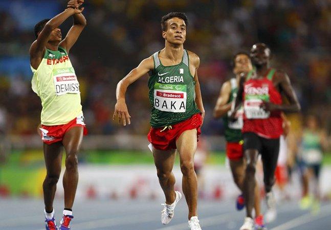 Atleta vence 1.500m paralímpicos com tempo recorde que lhe daria o ouro na Olimpíada do RJ