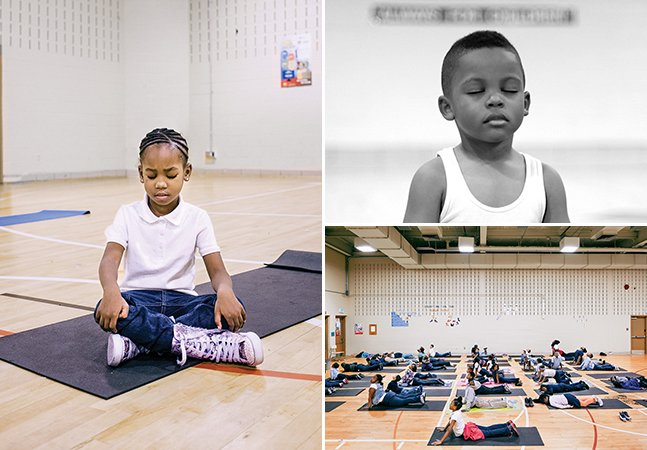 Esta escola trocou punições por meditação e os resultados são maravilhosos