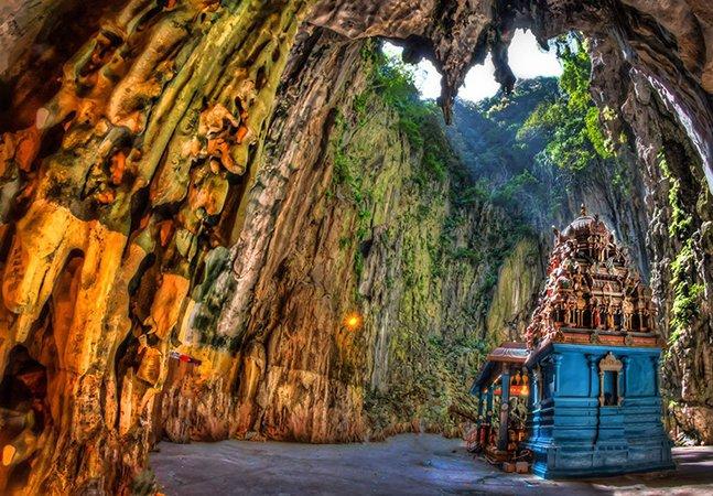 Conheça Batu Caves, as incríveis cavernas sagradas na Malásia