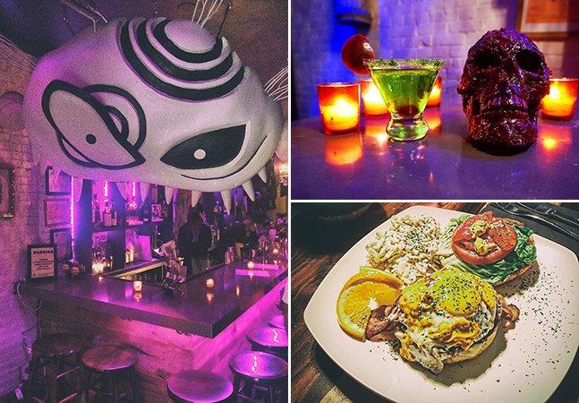 Beetle House: o maravilhoso e inusitado bar em Nova York inspirado nos filmes de Tim Burton