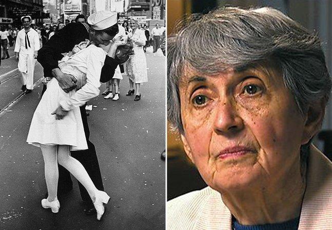 A enfermeira da icônica foto do beijo na Segunda Guerra deixou sua marca no mundo