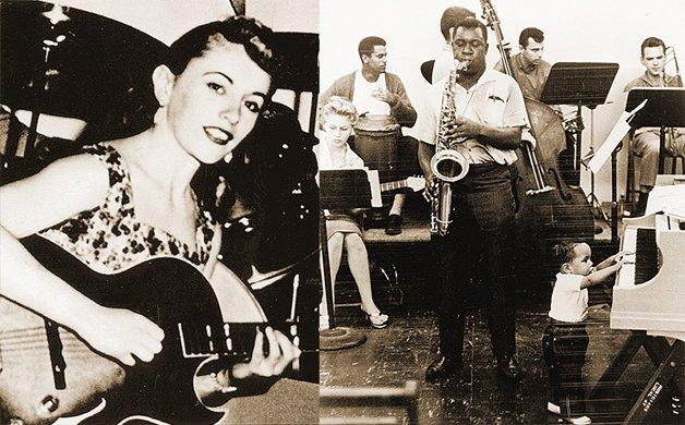 A jovem Carol, ainda nos anos 1950