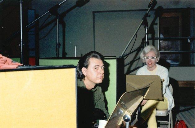 Carol em estúdio