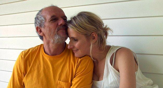 Com o ex-marido, o brasileiro José Nunes