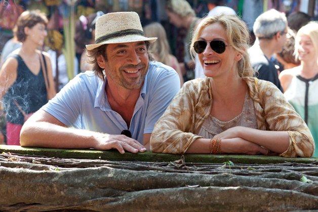 No cinema, a história do livro foi vivida por Julia Roberts e Javier Barden